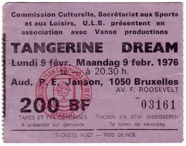 Tangerine Dream Live