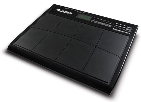 alesis intros performance pad drum machine synthtopia. Black Bedroom Furniture Sets. Home Design Ideas