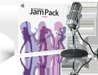 Apple Vocal Jampack