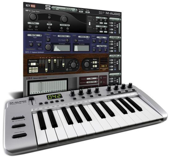 m audio releases keyrig 25 and keyrig 49 controller software bundles synthtopia. Black Bedroom Furniture Sets. Home Design Ideas