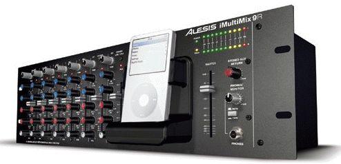 Alesis iMultiMix Rackmount iPod Mixer