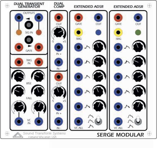 two new serge modular m odules synthtopia. Black Bedroom Furniture Sets. Home Design Ideas