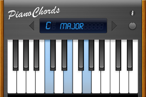 Pianochords Iphone Chord Finder Synthtopia