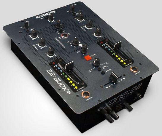 allen heath xone 22 dj mixer synthtopia. Black Bedroom Furniture Sets. Home Design Ideas