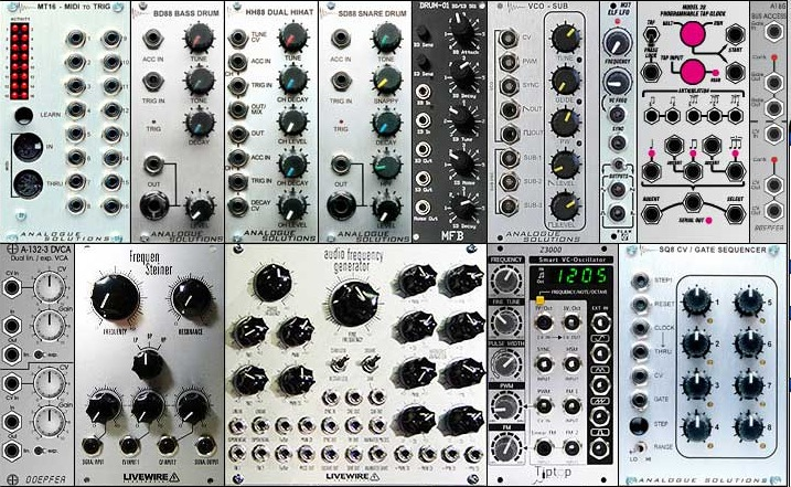 eurorack modular synthesizer planner lets you make your plans to rule the world with synth power. Black Bedroom Furniture Sets. Home Design Ideas