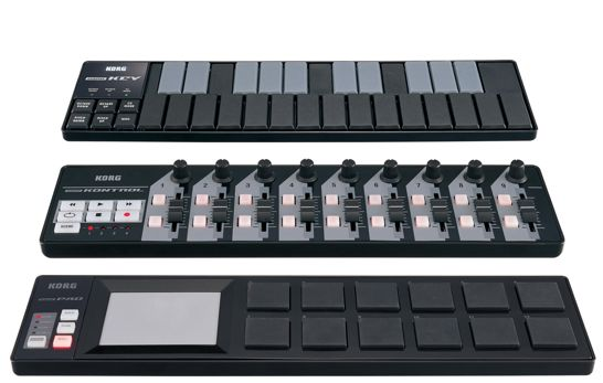 Korg nanoseries controllers now available in black synthtopia