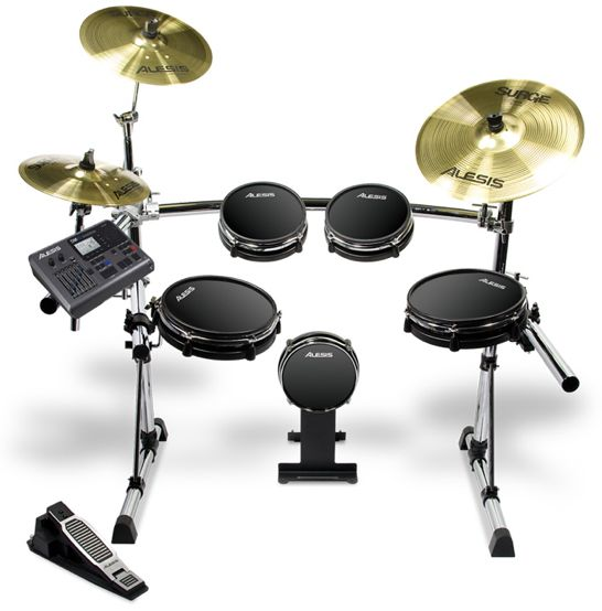 New DM10 Electronic Drum Set From Alesis – Synthtopia