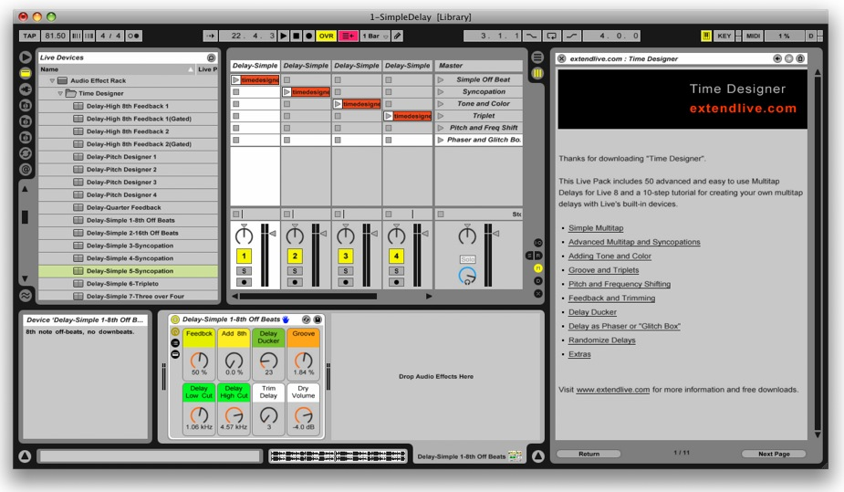 free sounds for ableton live 8