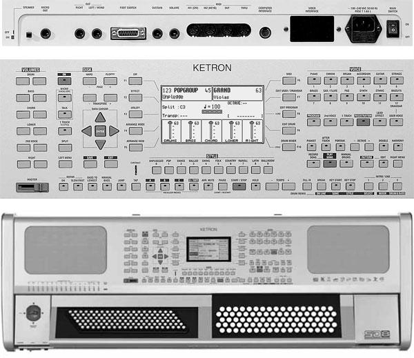 the ketron sd8 chromatic keyboard synthtopia. Black Bedroom Furniture Sets. Home Design Ideas