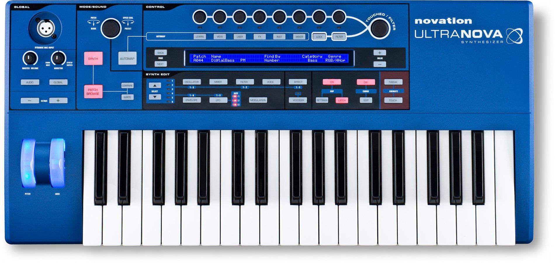 ultranova keyboard synthesizer synthtopia. Black Bedroom Furniture Sets. Home Design Ideas