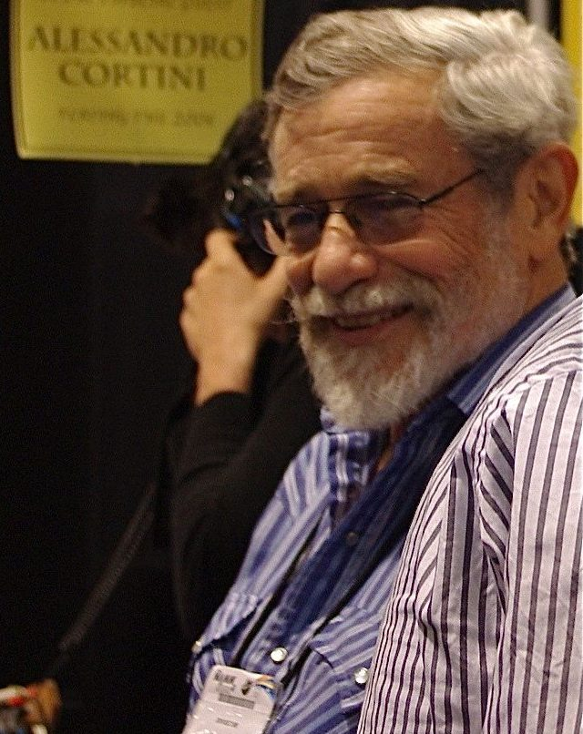 Don Buchla Smiles at the 2011 NAMM Show