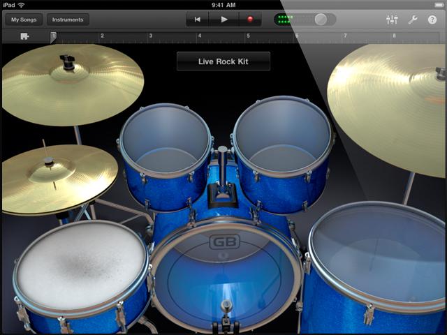 Drum Kit Music App : ipad garageband drums synthtopia ~ Hamham.info Haus und Dekorationen