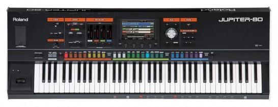 The Roland Jupiter 80 synthesizer