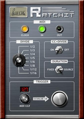 New 'Ratcheting' MIDI Plugin, Ratchit, Delivers Tangerine