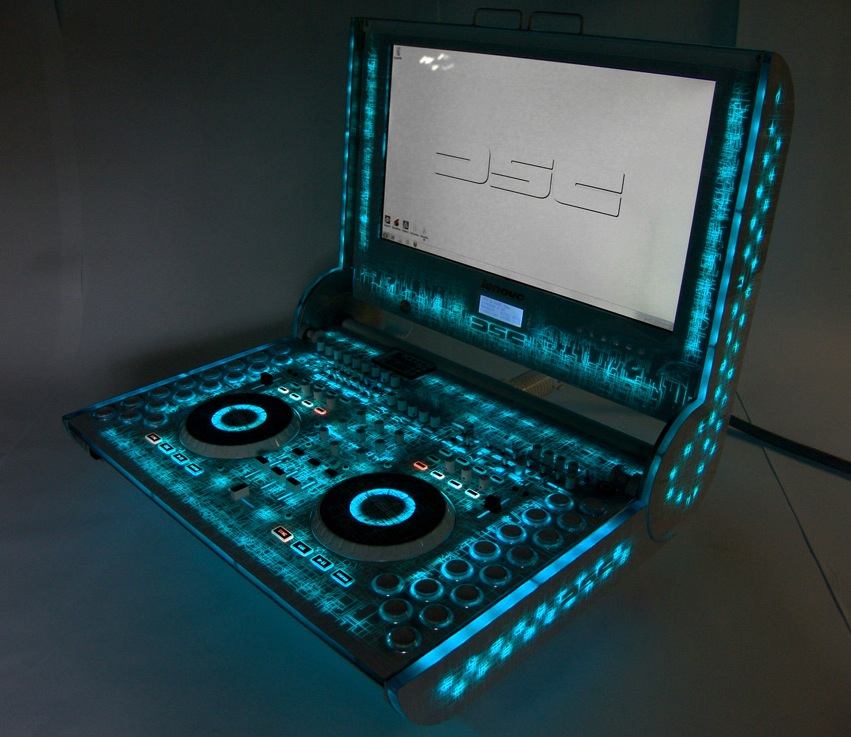 awesome all in one diy dj sound control system synthtopia. Black Bedroom Furniture Sets. Home Design Ideas