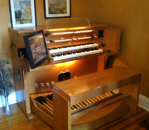 enhance your organ with midi synthtopia. Black Bedroom Furniture Sets. Home Design Ideas
