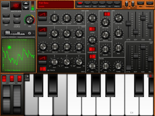 magellan for ipad offers two polyphonic synth engines synthtopia. Black Bedroom Furniture Sets. Home Design Ideas