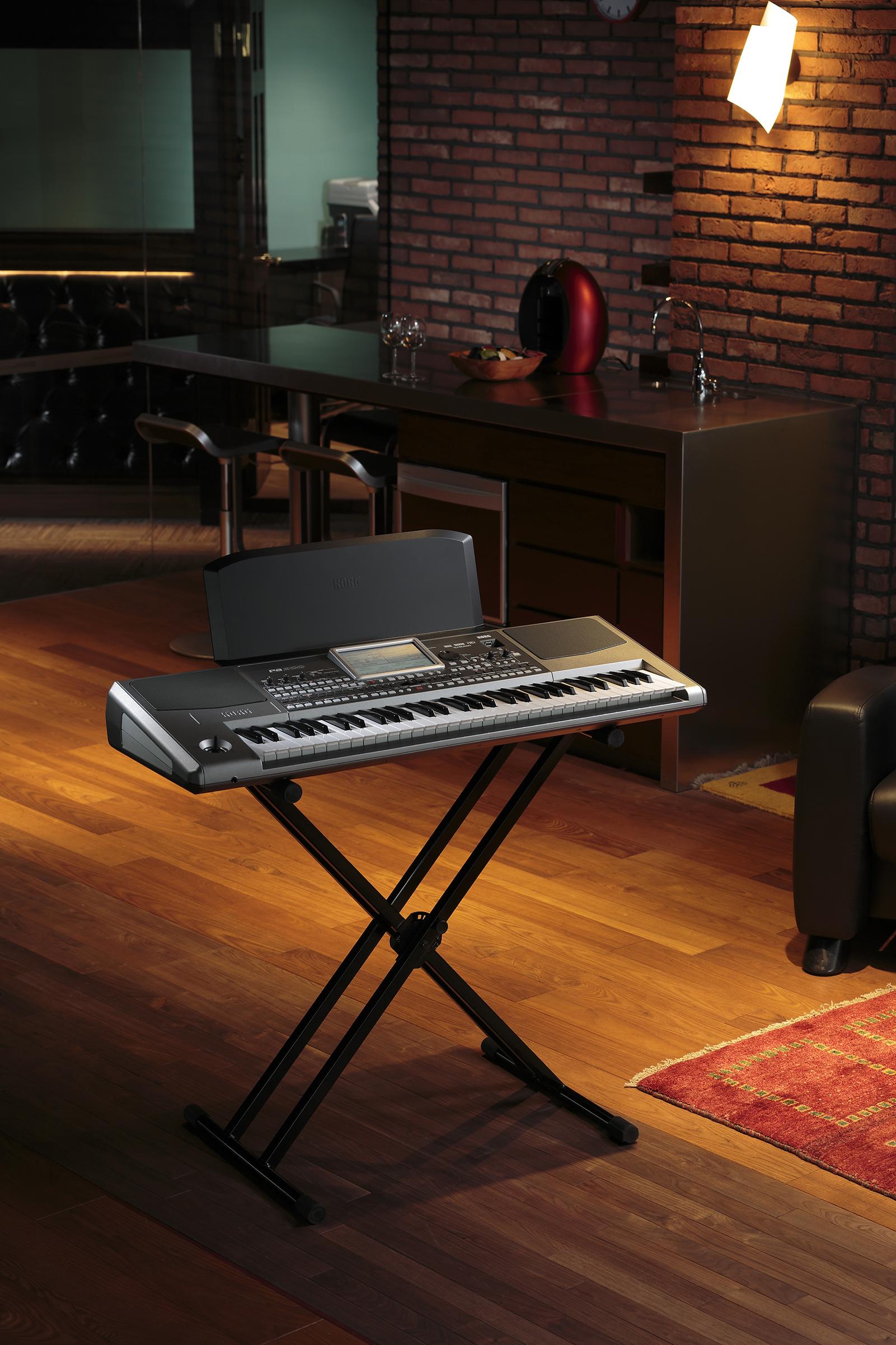Home Recording Studio Design Book Korg Pa900 On Stand Synthtopia