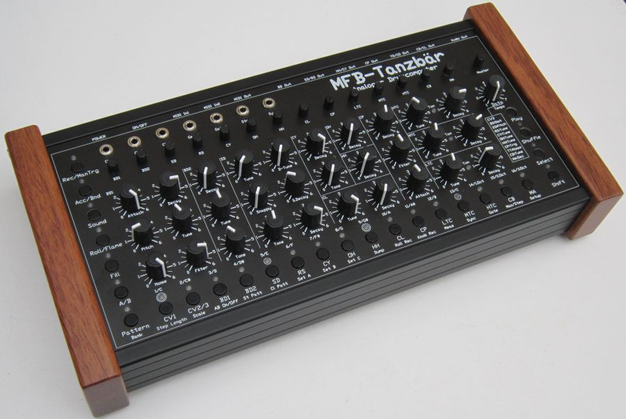 mfb tanzb r analog drum machine synthesizer now available synthtopia. Black Bedroom Furniture Sets. Home Design Ideas