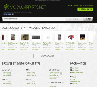 Modularparts is a free site for buying selling modular for Buy and sell online sites