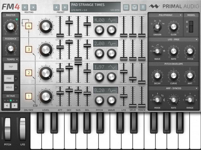New Coffee Cups Synth Demos Updates >> Primal Audio Fm4 Synthesizer Promises To Reinvent Fm Synthesis