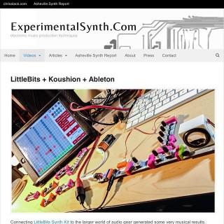 Experimental_Synth_littleBits_Koushion_Ableton