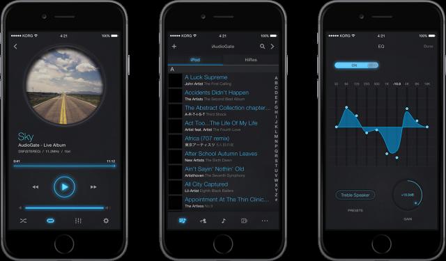 iAudioGate screen shots