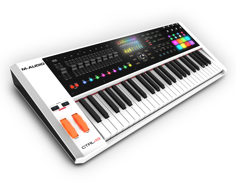 m audio ctrl49 keyboard controller synthtopia. Black Bedroom Furniture Sets. Home Design Ideas