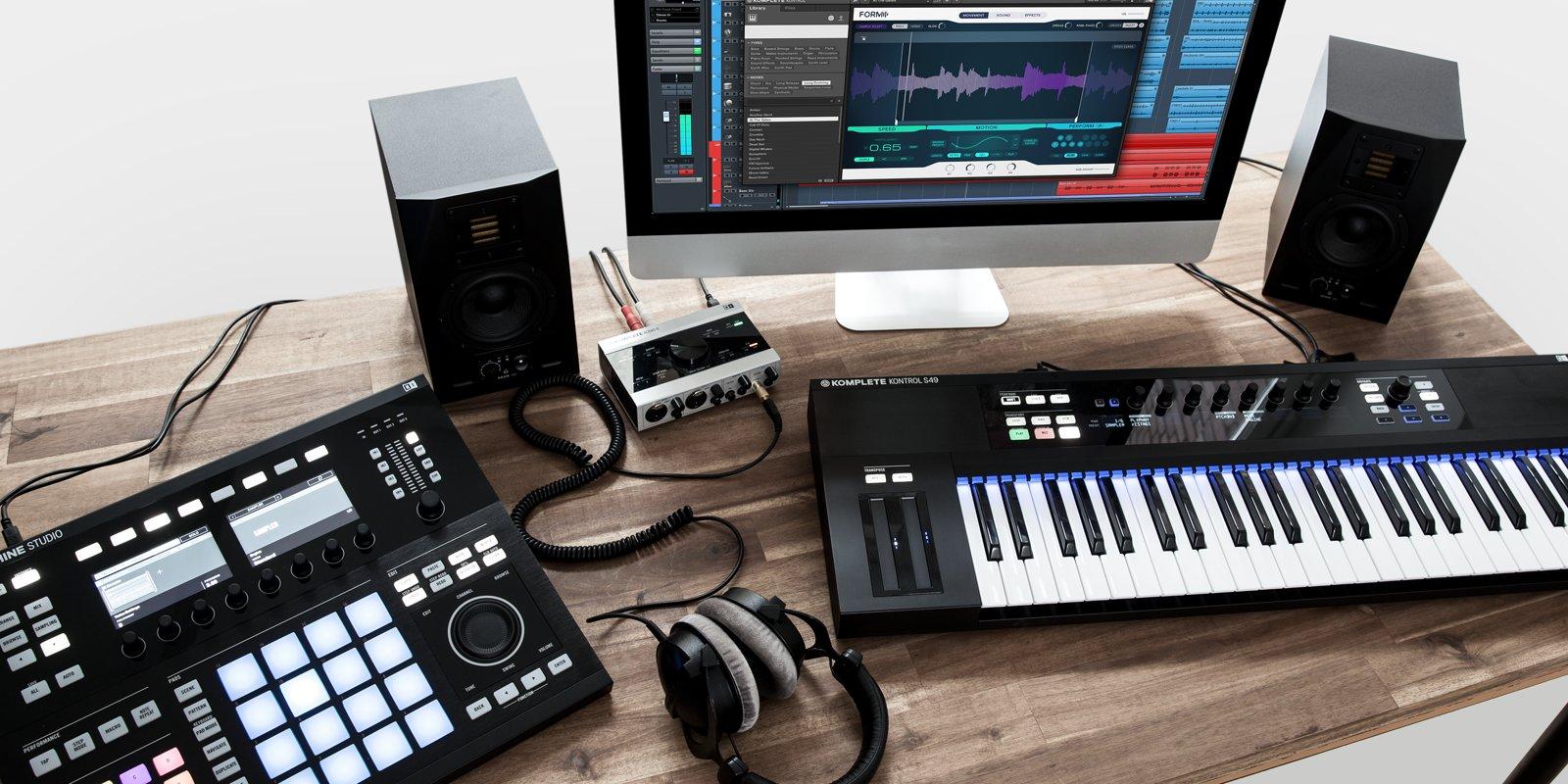 Native Instruments Komplete11 Studio Setup Synthtopia
