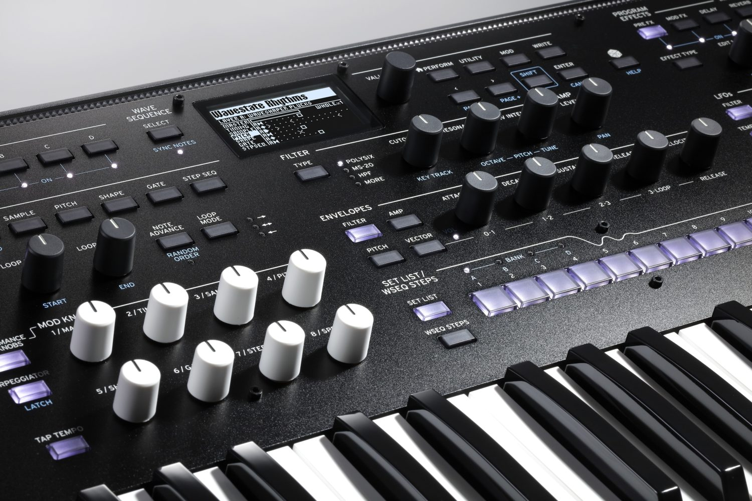 Berlin School & Ambient Sound Bank For The Korg Wavestate Synthesizer