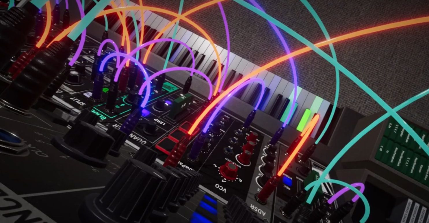 New Virtual Reality Modular Synthesizer, Synthspace, Coming To Steam In December