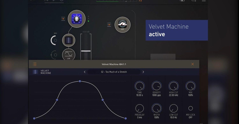 Velvet Machine Brings 'Convolution Fairy Dust' To Your iPad