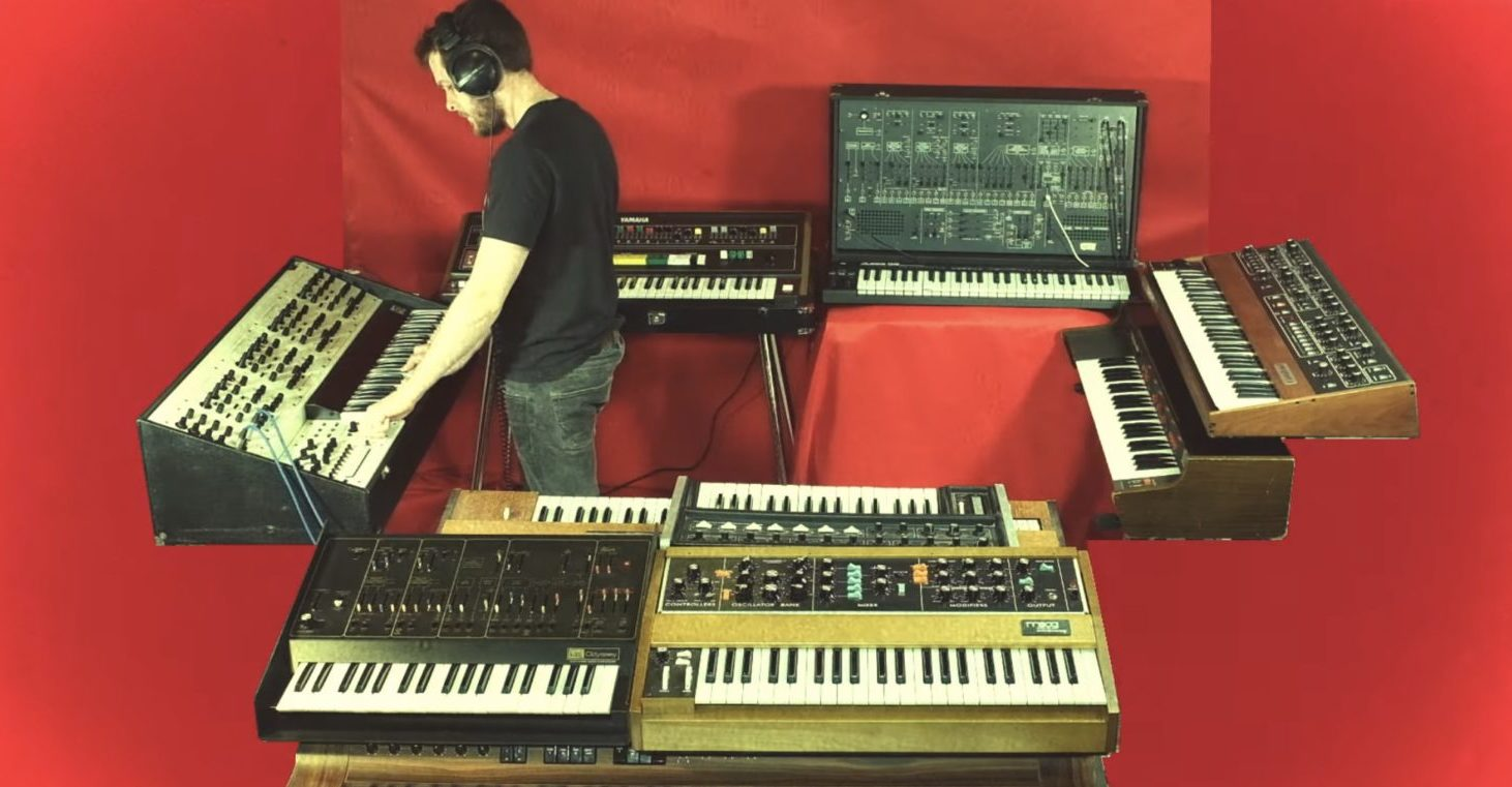 Keyboard, Synth and Organ - cover