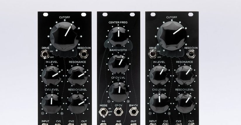 Erica Synths Intros Three New Filter Modules For Eurorack Systems