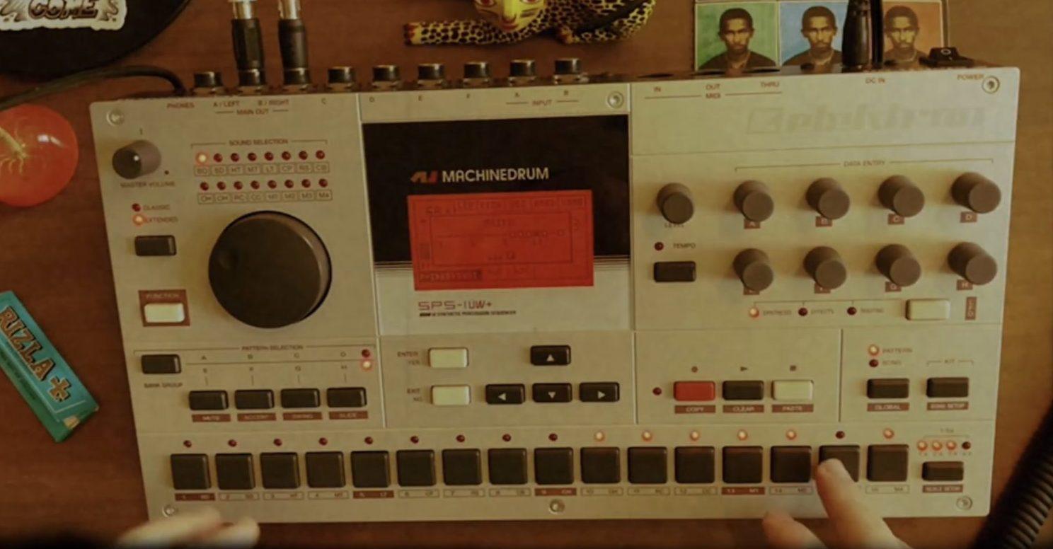 Elektron Machinedrum X.04 Unofficial Firmware Dub Test