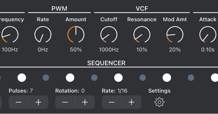 New iOS Synth, Euclid Goes to Party, An 'Instant Techno Bassline Machine'