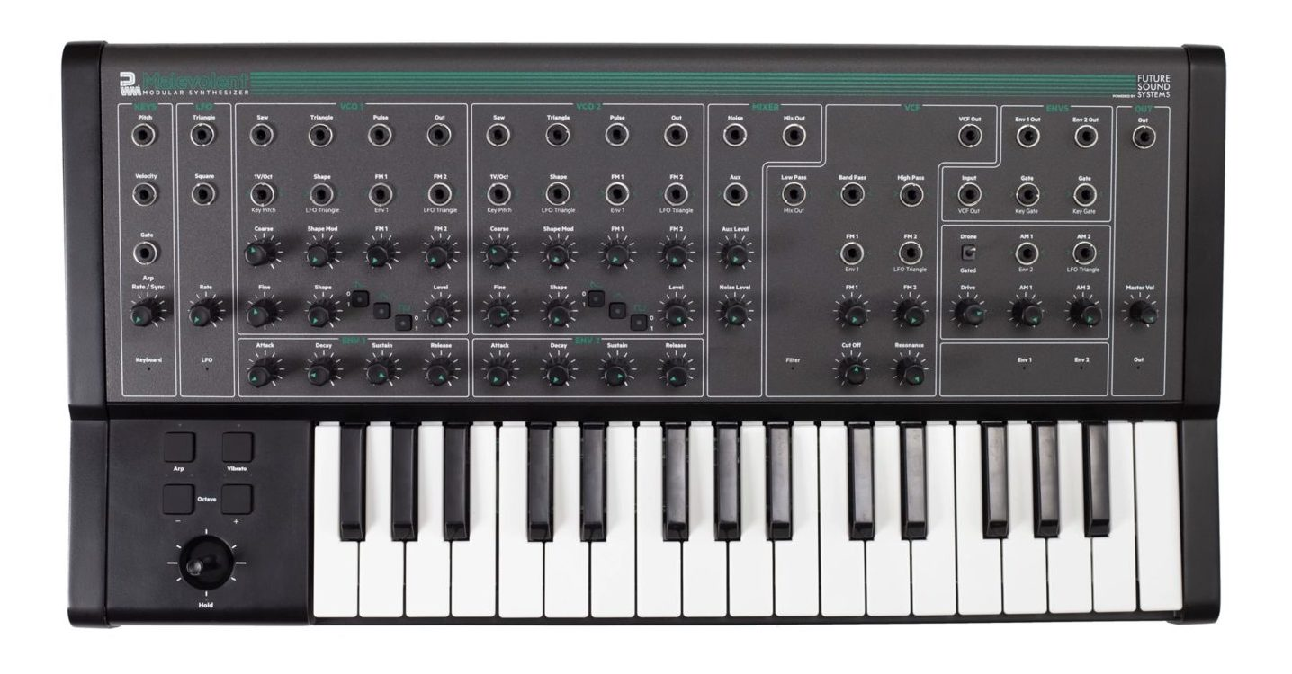 New PWM Malevolent Keyboard Offers Analog Sound, Modular Patching & Affordable Pricing